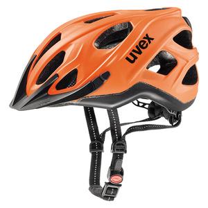 Helma Uvex CITY S Neon Orange-Black Mat, Uvex