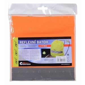 Batoh reflexná S.O.R. oranžový, Safety on Road
