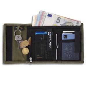 Peňaženka PENTAGON® Stater 2.0 čierna, Pentagon