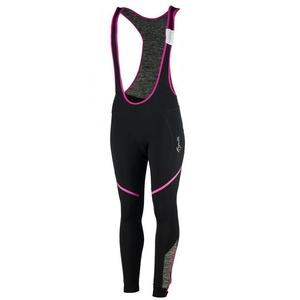 Dámske cyklistické nohavice Rogelli caro, 010.239. čierno-šedo-ružové, Rogelli