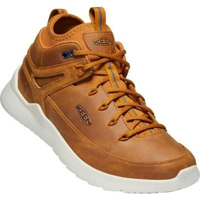 Topánky Keen HIGHLAND Sneaker Mid M-západ slnka pšenica/striebro birch, Keen