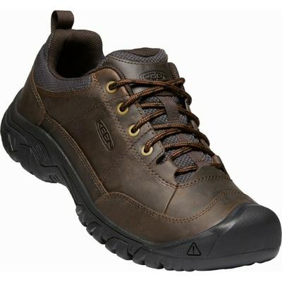 Topánky Keen TARGHEE III Oxford Muži tmaví zemina/mulč, Keen