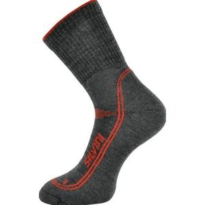 Ponožky Silvini Lattari UA904 charcoal-red, Silvini