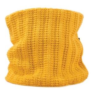 Pletený nákrčník Kama S18 102 žltý, Kama