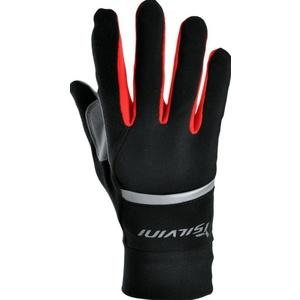 Unisex rukavice Silvini Isonzo UA905 black-red, Silvini