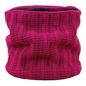 Pletený nákrčník Kama S18 114 ružová, Kama