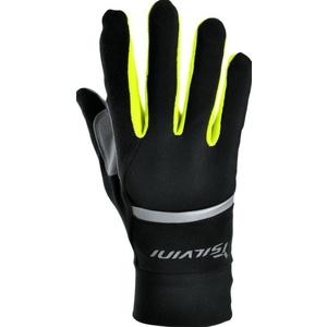 Unisex rukavice Silvini Isonzo UA905 black-neon, Silvini