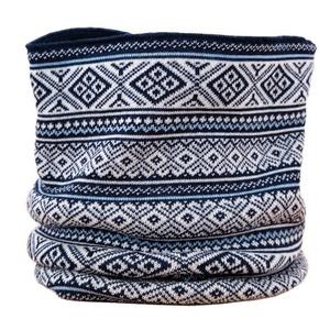 Pletený nákrčník Kama S19 108 tmavo modrá, Kama