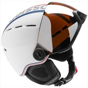 Lyžiarska helma Rossignol Visor-Single Lense white RKFH201, Rossignol