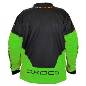 Brankársky dres Oxdog VAPOR GOALIE SHIRT black / green, Exel