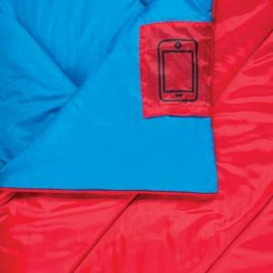 Spacie vrece deka Spokey MUFF II červený, Spokey