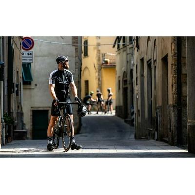 Cyklistická šiltovka pod helmu Rogelli RETRO, čierno-biela 009.966, Rogelli