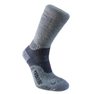 Sada ponožiek Bridgedale Trekker 21st Year Twinpack Women's ML silver/black/852, bridgedale