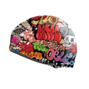 Plavecká čiapka Spokey STYLO grafitti, Spokey