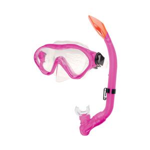 Sada okuliare + šnorchel Spokey CAYMAN JUNIOR ružový, Spokey