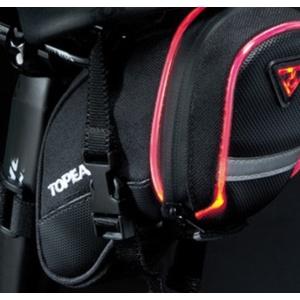 Brašňa Topeak AERO WEDGE iGlow Small pásky TIG-AW02, Topeak
