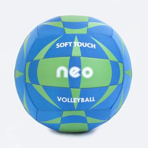Volejbalový lopta Spokey NEO SOFT modro-zelený, Spokey