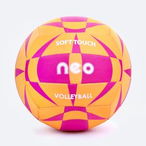 Volejbalový lopta Spokey NEO SOFT žlto-ružový