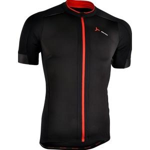 Pánsky cyklistický dres Silvini CENO MD1000 black-red, Silvini