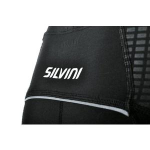 Pánske 3/4 cyklistické nohavice Silvini FORTORE MP1005 black, Silvini
