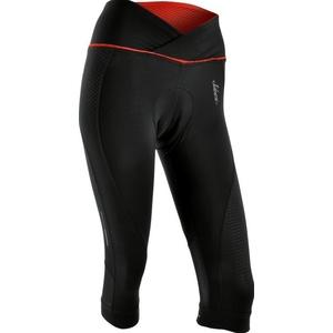Dámske 3/4 cyklistické nohavice Silvini TINELLA WP1010 black-red, Silvini