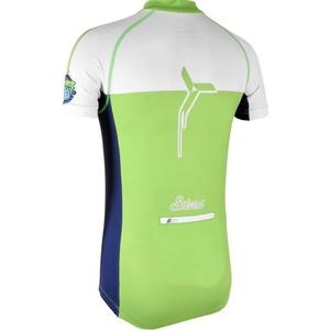 Detský cyklistický dres Silvini Tanaro CD812 green-navy