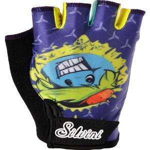 Detské rukavice Silvini PUNTA CA848 navy-lime, Silvini