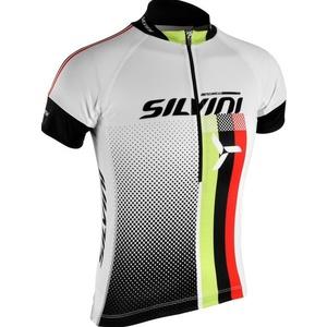 Detský cyklistický dres Silvini TEAM kids CD842K white, Silvini