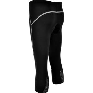 Detské 3/4 cyklistické nohavice Silvini BASENTO CP790 black, Silvini