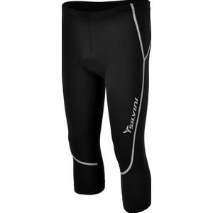 Detské 3/4 cyklistické nohavice Silvini BASENTO CP790P black, Silvini