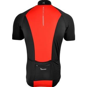 Pánsky cyklistický dres Silvini PESCARA MD1025 black-red, Silvini