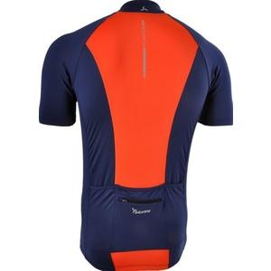 Pánsky cyklistický dres Silvini PESCARA MD1025 navy-orange, Silvini