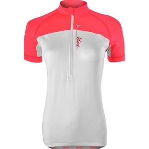 Dámsky cyklistický dres Silvini GRUSO WD1026 white-punch, Silvini