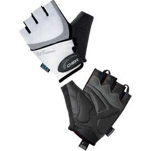 Cyklo rukavice Chiba LADY GEL, bielo-čierne 30905.0110, Chiba