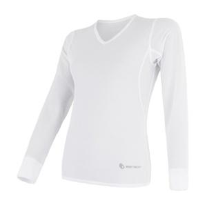 Dámske triko Sensor Coolmax Fresh Air V-neck biele 17100024, Sensor