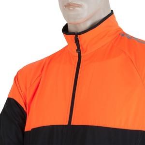 Pánska bunda Sensor NEON čierna/oranžová reflex 17100114, Sensor