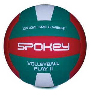 Volejbalový lopta Spokey PLAY II červeno-zelený vel.5, Spokey