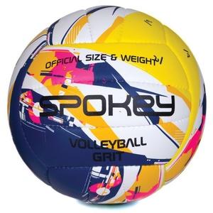 Volejbalový lopta Spokey GRIT fialovo-žltý č.5, Spokey