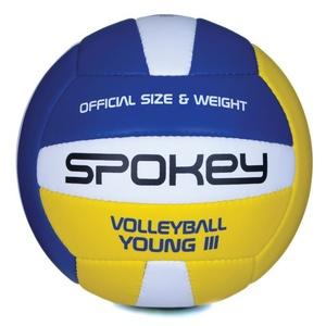 Volejbalový lopta Spokey YOUNG III modro-žltý vel.4, Spokey