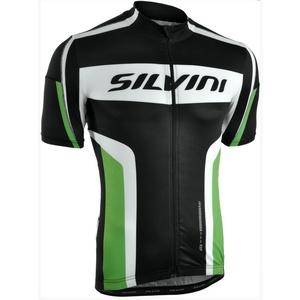 Pánsky cyklistický dres Silvini LEMME MD603 black-forest, Silvini