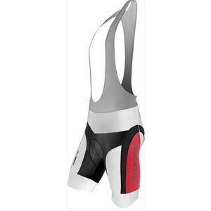 Pánske cyklistické nohavice Silvini MERRE MP605 white-red, Silvini