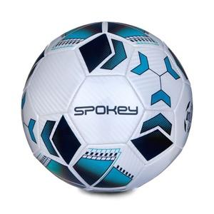 Futbalový lopta Spokey agility bielo-tyrkysový vel.4, Spokey
