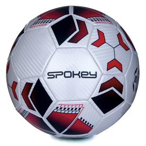 Futbalový lopta Spokey agility bielo-červený vel.4, Spokey