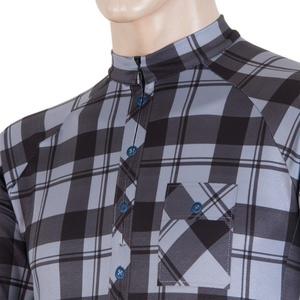 Pánsky dres Sensor CYKLO SQUARE čierna / šedá 16200151, Sensor