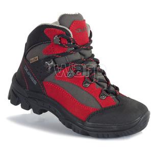 Topánky Duras Rocker Kid II Comfortex red/black, Duras