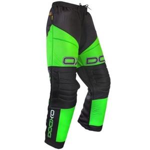 Brankárske nohavice OXDOG VAPOR GOALIE PANTS JUNIOR black / green, Oxdog