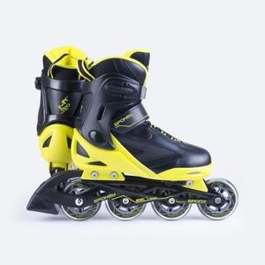 Kolieskové korčule Spokey SPOOX čierna-žltá, Spokey