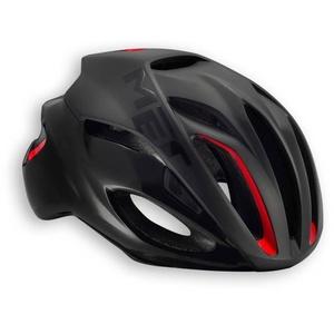 Helma MET rival čierna / červená, Met