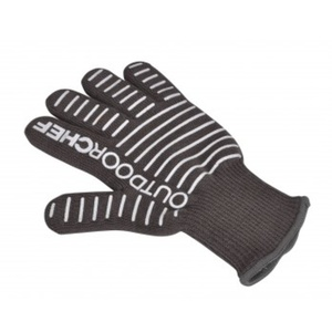 Silikónová grilovacie rukavice Outdoorchef čierna, OutdoorChef