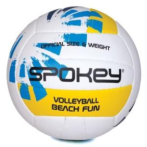 Volejbalový lopta Spokey BEACH FUN modro-biely č.5, Spokey